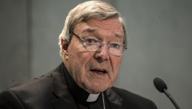 Kardynał George Pell /MASSIMO PERCOSSI /PAP/EPA