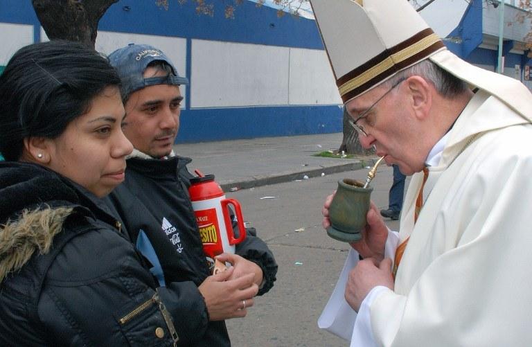 Kardynał Jorge Mario Bergoglio /AFP