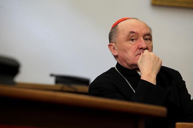 Kardynał Kazimierz Nycz /fot. T. Gzell /PAP