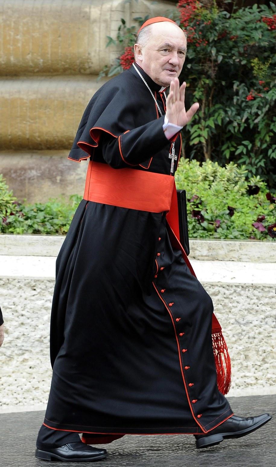 Kardynał Kazimierz Nycz /MAURIZIO BRAMBATTI /PAP/EPA