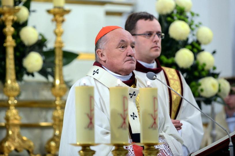 Kardynał Kazimierz Nycz /Jakub Kamiński   /PAP