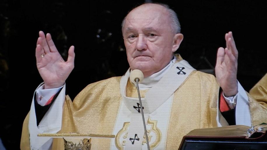 Kardynał Kazimierz Nycz /Mateusz Marek /PAP