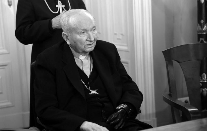 Kardynał Marian Jaworski /Marek Lasyk  /Reporter