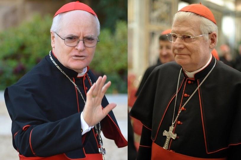 Kardynał Odilo Scherer (z lewej) i kardynał Angelo Scola /AFP