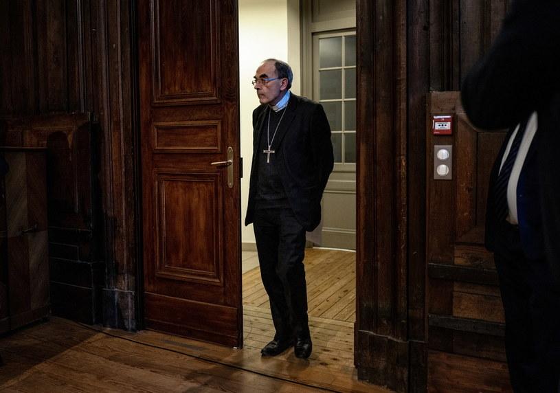 Kardynał Philippe Barbarin /JEFF PACHOUD /AFP