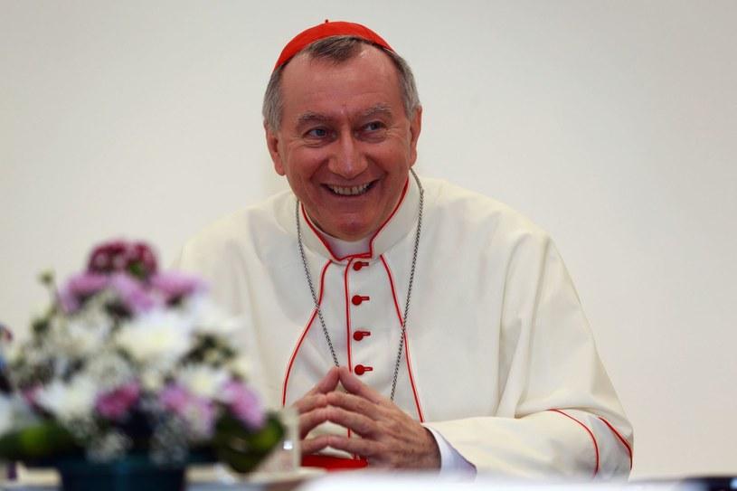 Kardynał Pietro Parolin /AFP