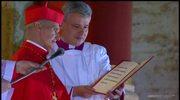 Kardynał protodiakon ogłasza imię nowego papieża