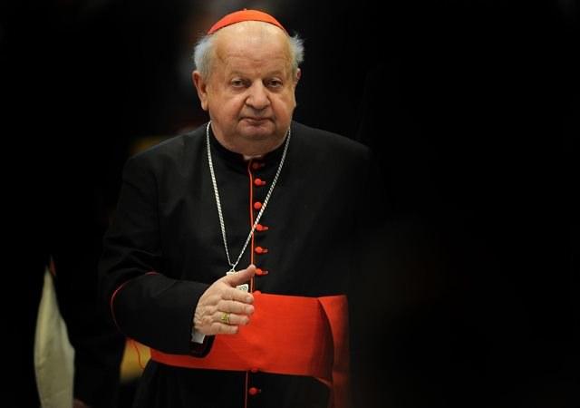 Kardynał Stanisław Dziwisz /Vandeville Eric    /PAP/EPA