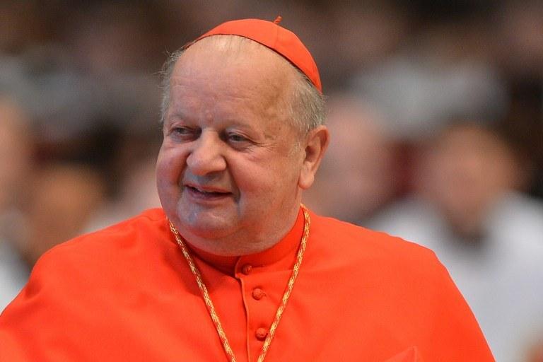 Kardynał Stanisław Dziwisz /AFP