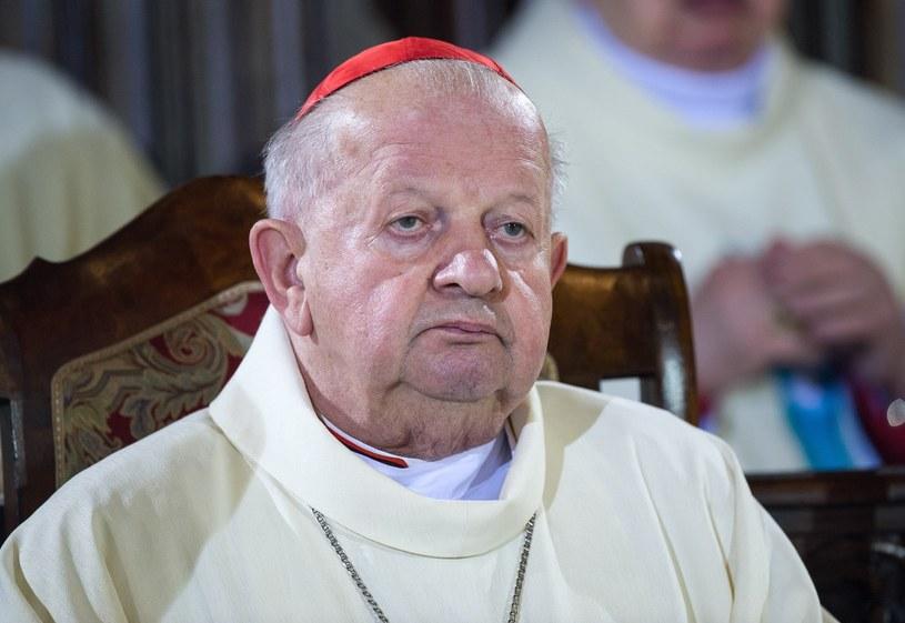 Kardynał Stanisław Dziwisz /Bartosz Krupa /East News