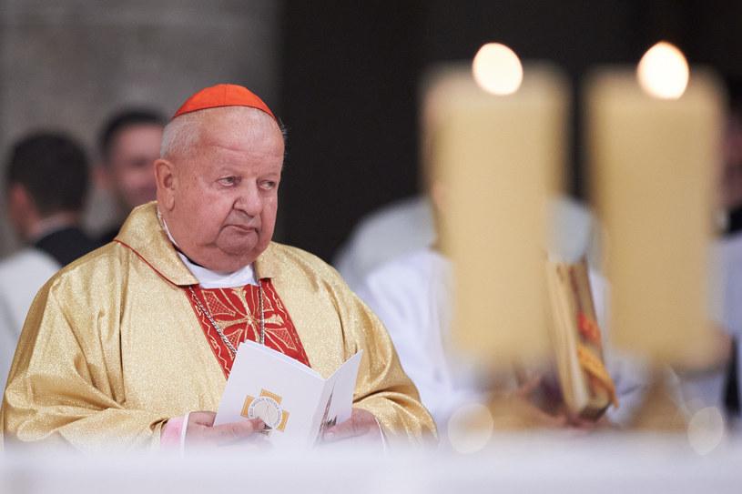 Kardynał Stanisław Dziwisz /Fot. Lukasz Szelag/REPORTER /Reporter