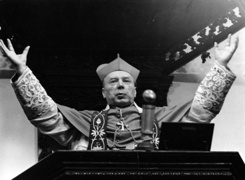 Kardynał Stefan Wyszyński pod koniec lat 60. /Jerzy Michalski /Agencja FORUM