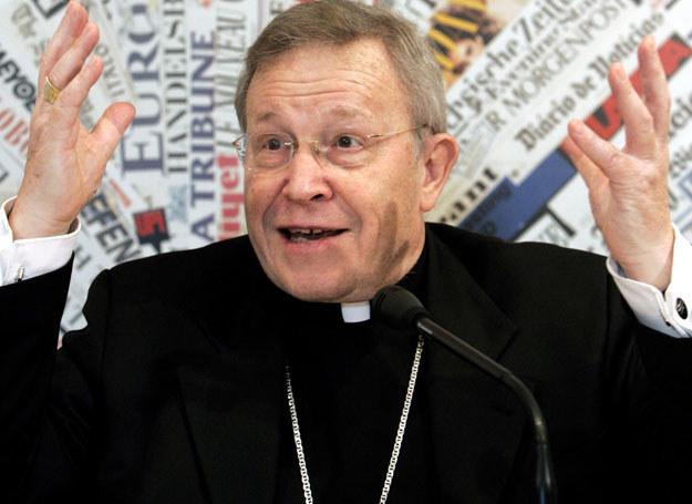 Kardynał Walter Kasper /ASSOCIATED PRESS/FOTOLINK  /East News