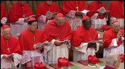 Kardynałowie odśpiewali hymn Veni Creator Spiritus