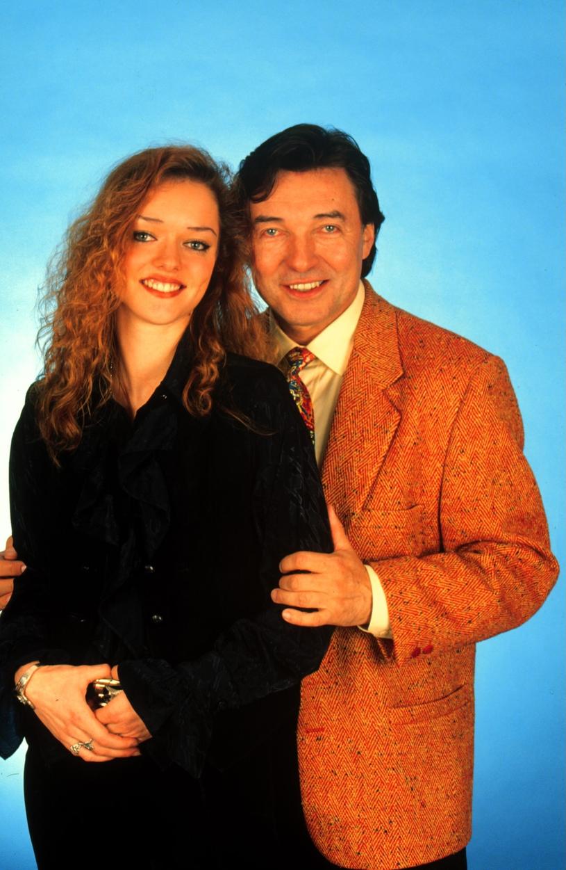 Karel Gott z córką Dominiką /Peter Bischoff /Getty Images