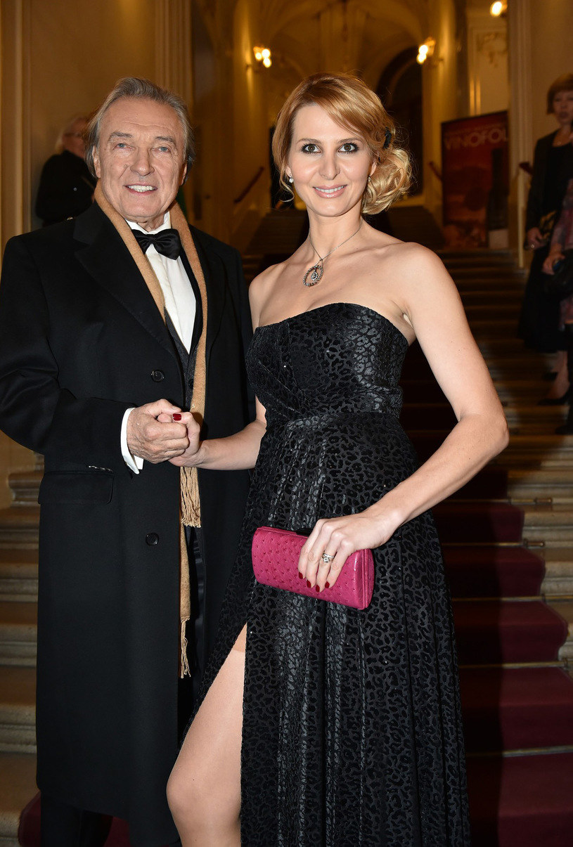 Karel Gott z żoną /- /East News