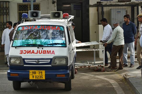Karetka w Indiach, zdjęcie ilustracyjne /Hindustan Times /Getty Images