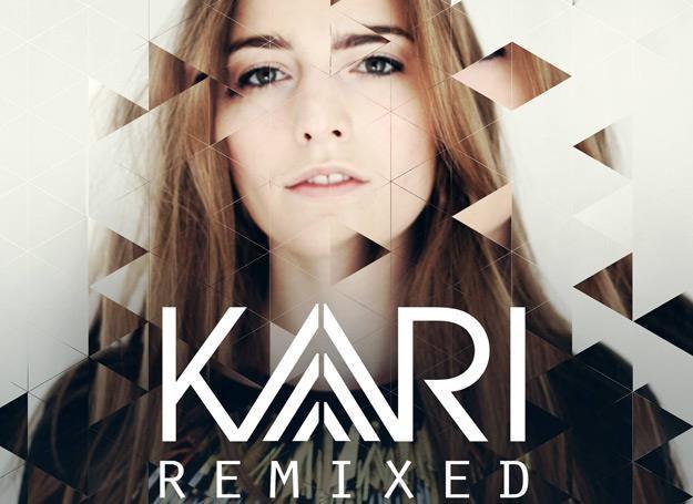 """Kari Amirian na okładce EP-ki """"Remixed"""" /oficjalna strona wykonawcy"""