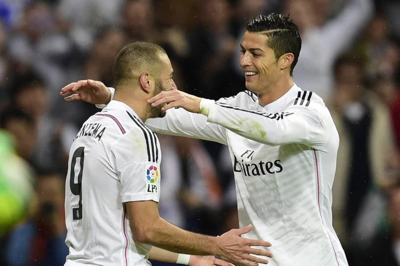 Karim Benzema i Cristiano Ronaldo /AFP