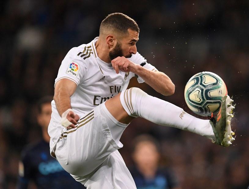 Karim Benzema, najlepszy w tym sezonie strzelec Realu Madryt /AFP