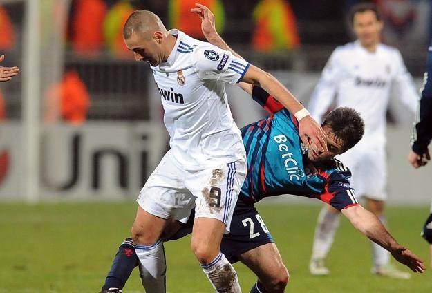 Karim Benzema wrócił do Lyonu z przytupem /AFP