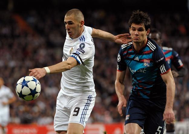 Karim Benzema (z lewej) /AFP
