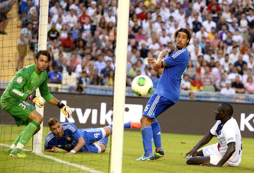 Karim Benzema zdobył zwycięskiego gola w meczu z PSG /AFP