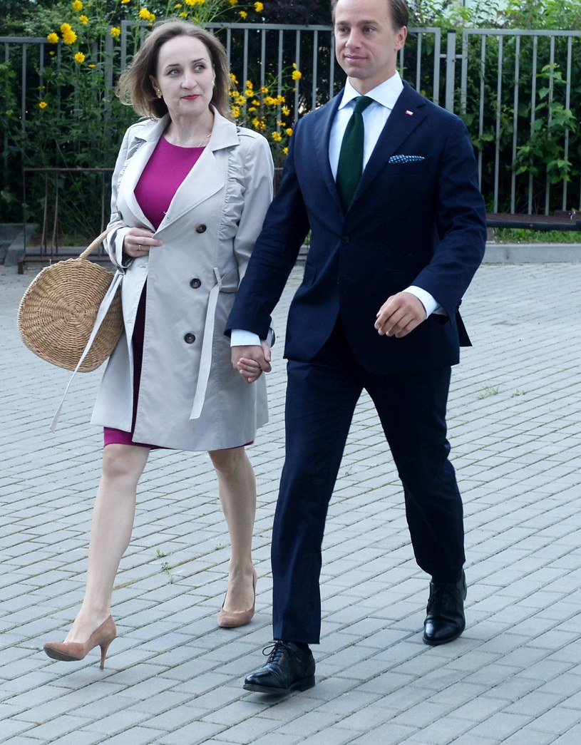 Karina i Krzysztof Bosakowie /Jan Bielecki /East News