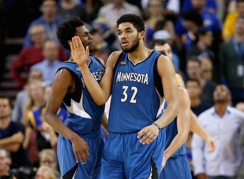 Karl-Anthony Towns /AFP
