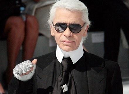 Karl Lagerfeld będzie gościem honorowym berlińskiego Tygodnia Mody. /AFP