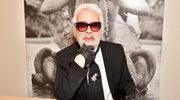 Karl Lagerfeld: tak wygląda bez ciemnych okularów