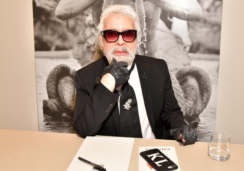 Karl Lagerfeld zmarł 19 lutego /East News
