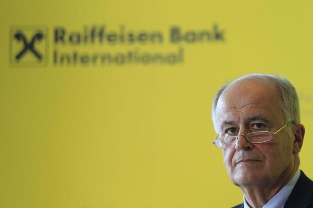 Karl Sevelda, prezes Raiffeisen Bank International /AFP