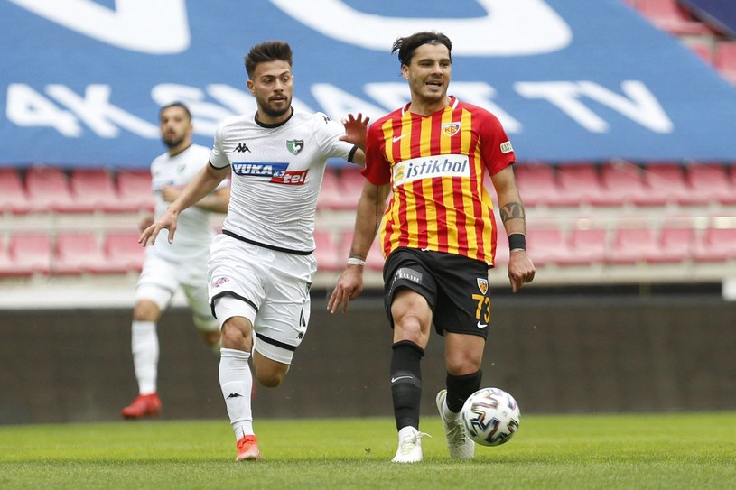 Karlo Muhar z Lecha Poznań w barwach Kayserispor /Abaca /Newspix