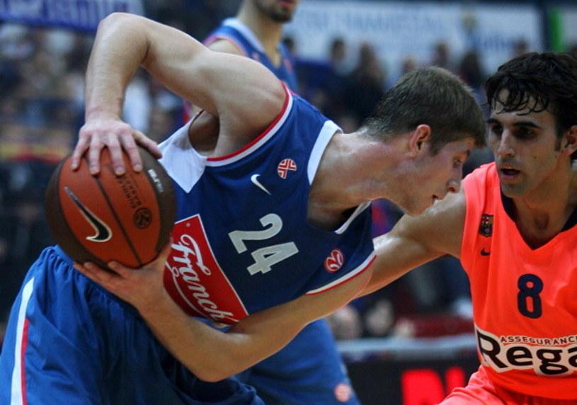 Karlo Vragović (z piłką) /Robert Valai/Euroleague Basketball /Getty Images