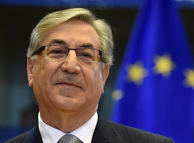 Karmenu Vella, komisarz ds. środowiska, polityki morskiej i rybołówstwa /AFP