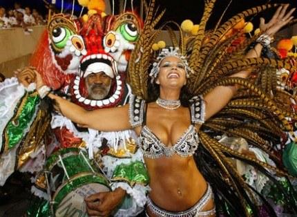 Karnawał w Rio de Janeiro /AFP
