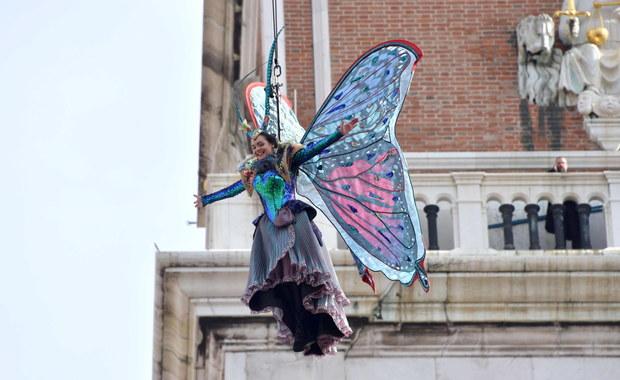 Karnawał w Wenecji. Lot Anioła zobaczyło 23 tys. osób