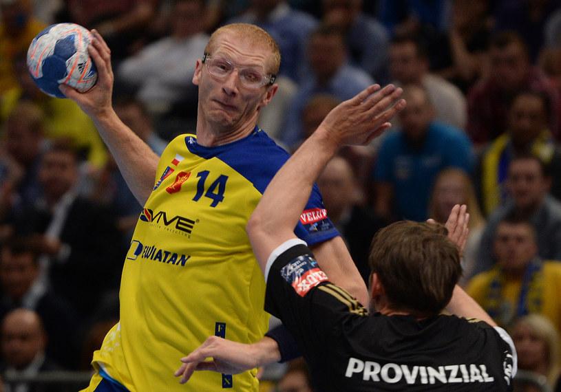 Karol Bielecki, piłkarz ręczny Vive Targów Kielce /PAP