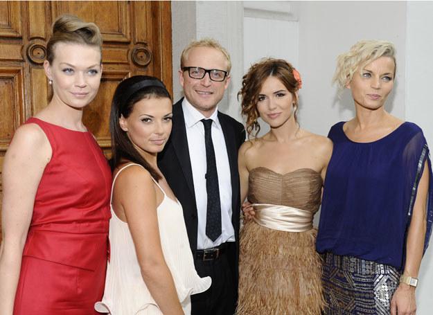 Karol i jego dziewczyny / fot. J. Antoniak /MWMedia