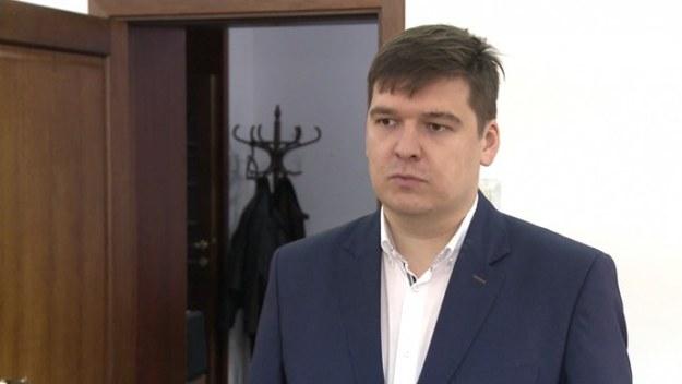 """Karol Leszczyński, kierownik projektu """"Start na rynku pracy"""" /Newseria Biznes"""