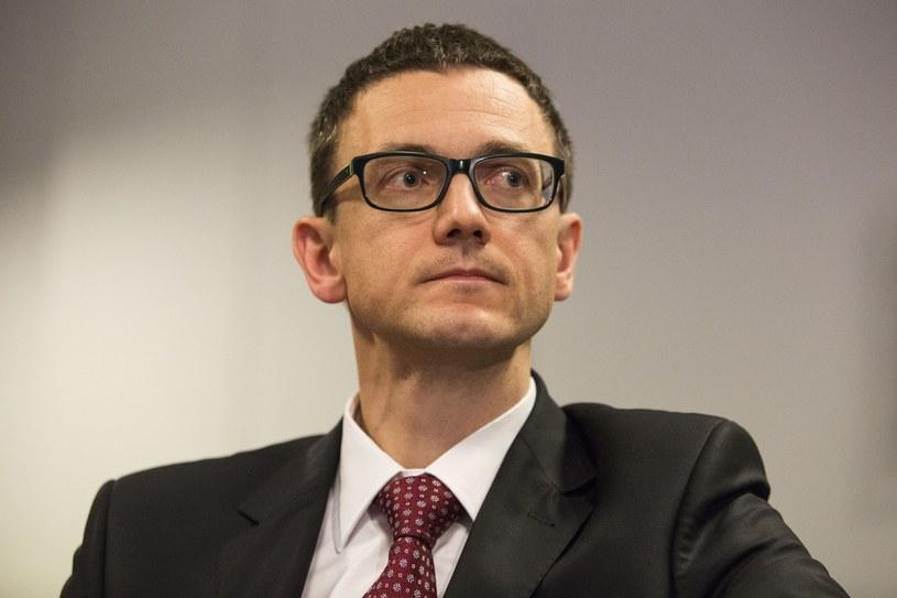 Karol Okoński, wiceminister cyfryzacji. Andrzej Hulimka /Reporter