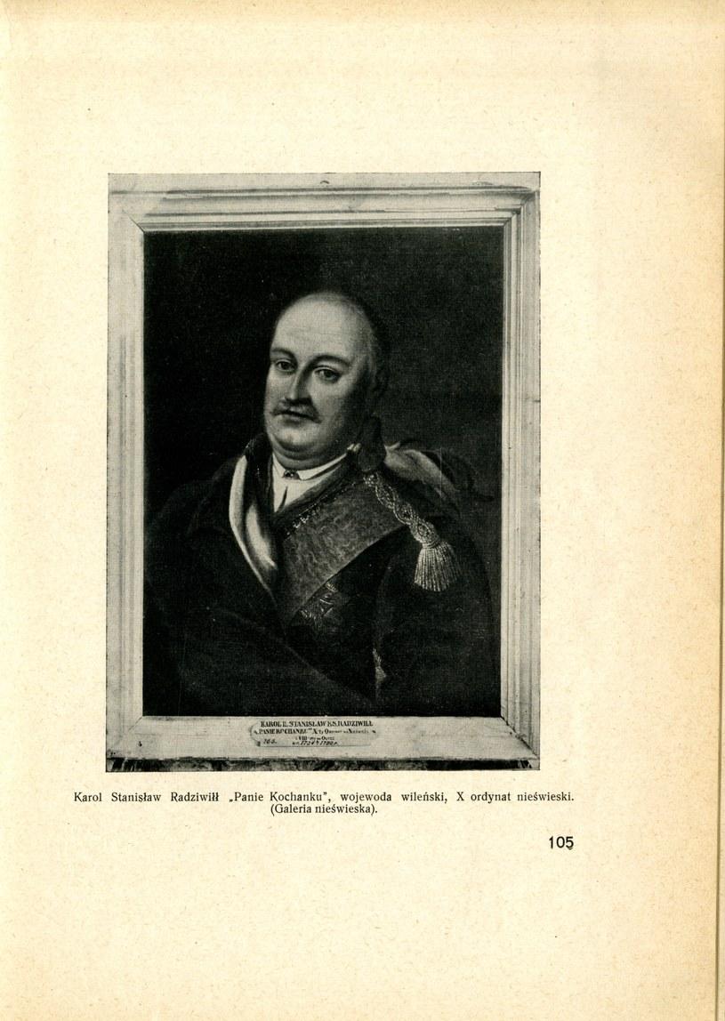 """Karol Radziwiłł """"Panie Kochanku"""" (fot. B. Taurogiński, """"Z dziejów Nieświeża"""") /"""