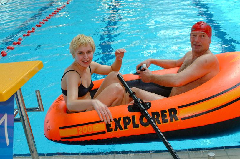 Karol Strasburger i Paulina Holtz /AKPA