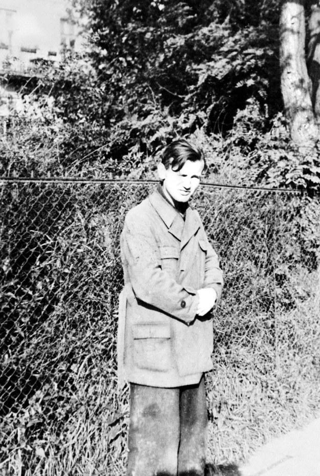 Karol Wojtyła jako pracownik kamieniołomów, 1940 rok /PAI /PAP