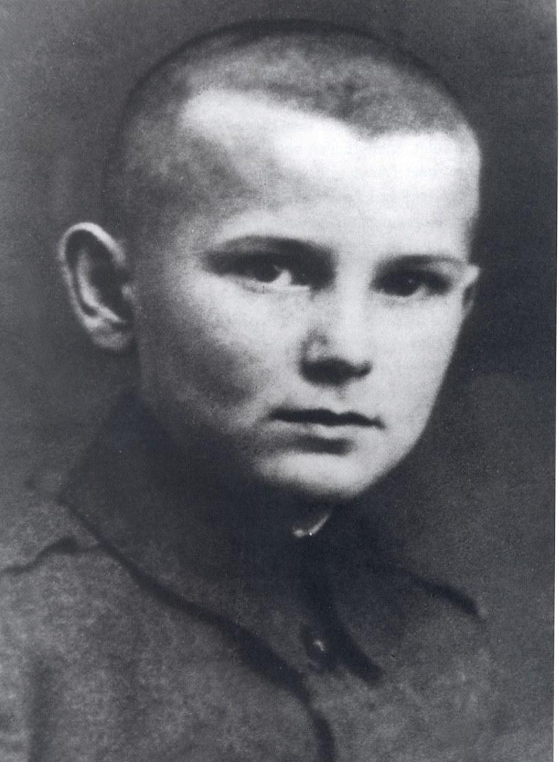 Karol Wojtyła w czasach, kiedy był uczniem w Wadowicach /East News