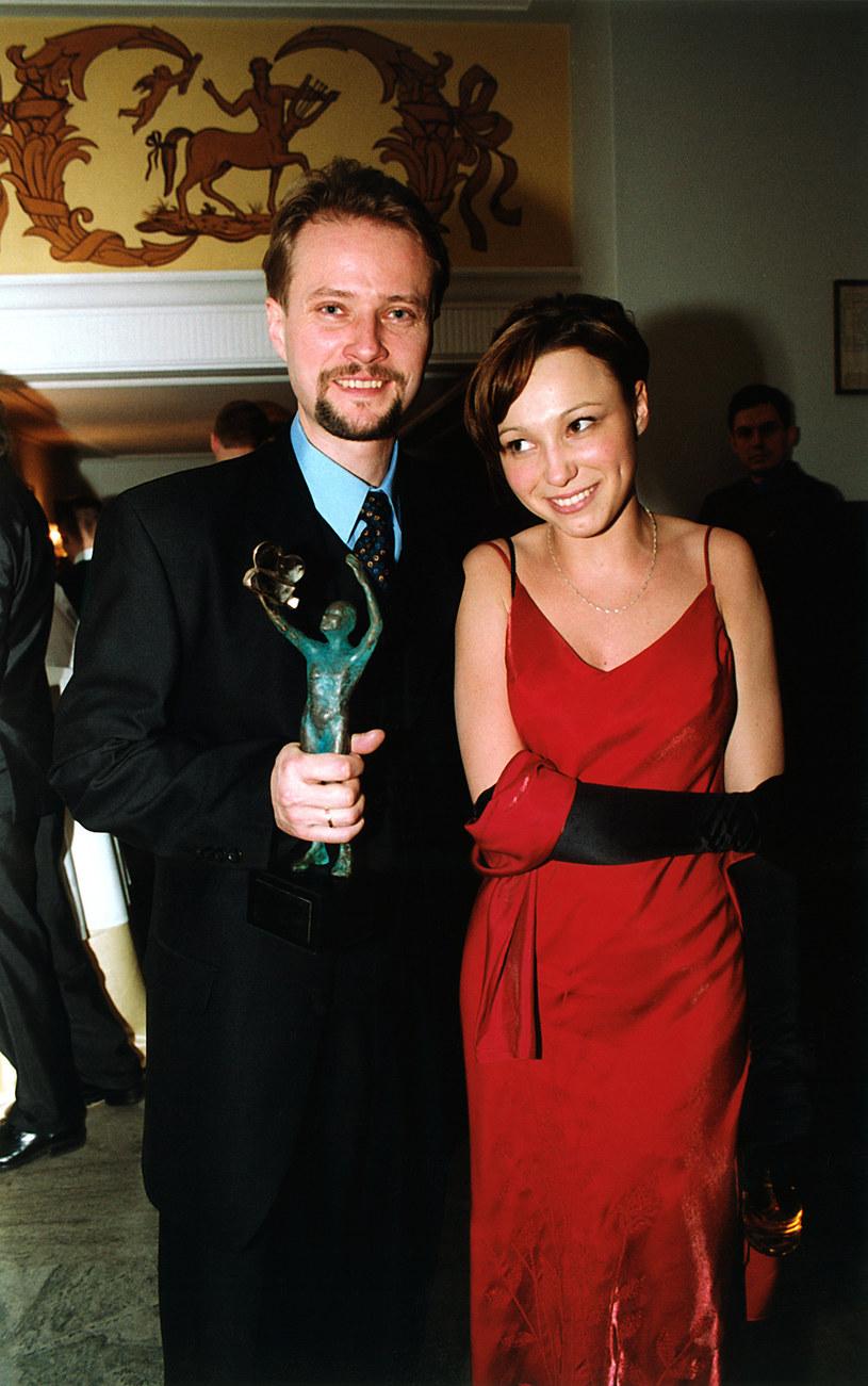 Karolina Borkowska i Artur Żmijewski, 2001 rok /Niemiec /AKPA