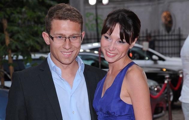 Karolina Borkowska z mężem  /MWMedia