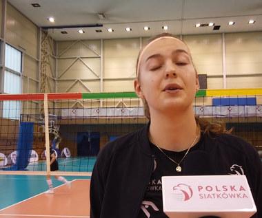 Karolina Drużkowska: Jestem bardzo zadowolona z poziomu treningów. Wideo