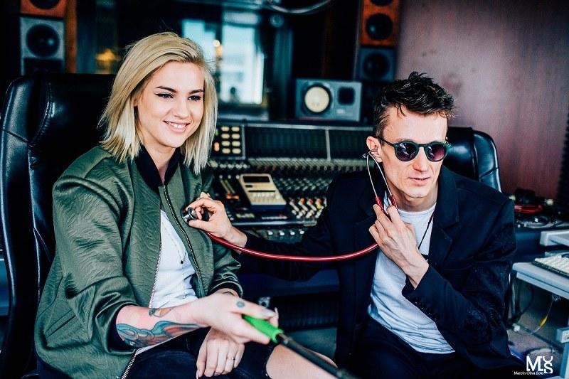 Karolina Gilon i Piotr Bejnar współpracują przy Projekt Heartbeats /materiały promocyjne